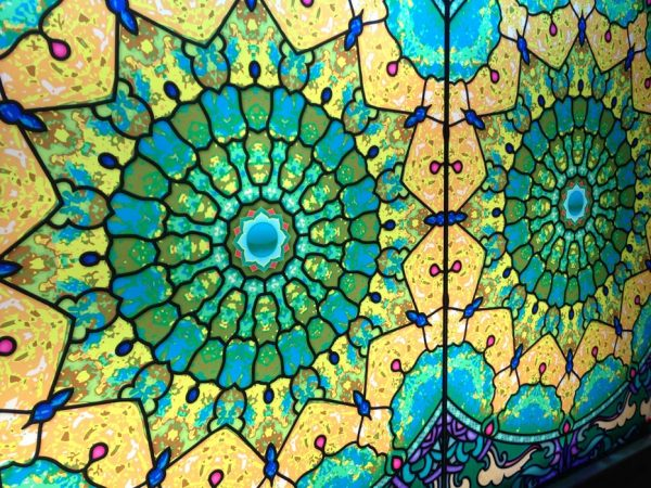 Fensterdeko Mandala Sichtschutz oder auch als Fensterpanel budget