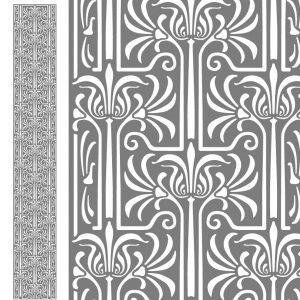 Fensterfolie, Fensterdeko, Raumgestaltung, Glasdekor Muster