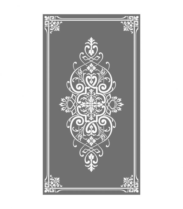 """Glasdekor Sichtschutz Ornament """"Ninfea"""""""