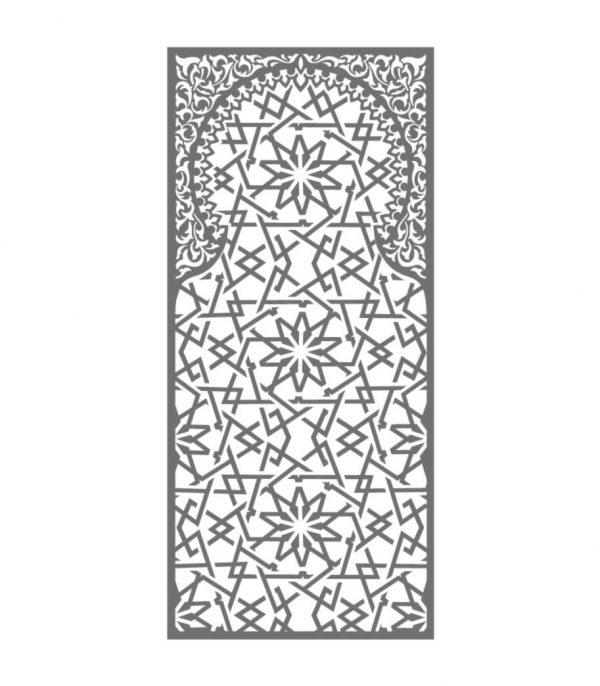 Glasdekorfolie orientalisch marokkanischer Stil