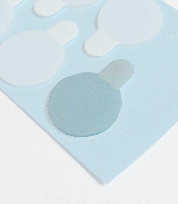 Klebepunkte 2 seitig hochtransparent zur Montage Ihres Fensterpanels