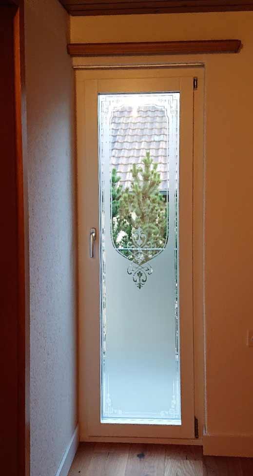 Fenster Sichtschutz Glasdekor Jugendstil Landhausstil